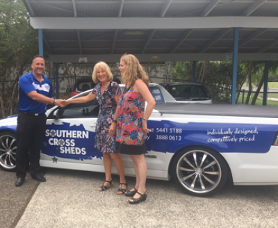 Donation from Southern Cross Sheds